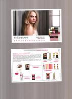 1 Carte PostaleYSL Allemande 2015 - Perfume Cards