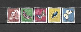 1956 - N. 581/85** (CATALOGO UNIFICATO) - Svizzera
