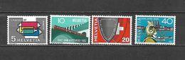 1957 - N. 586/89** (CATALOGO UNIFICATO) - Svizzera