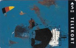 Denmark, TP 068, 5kr,  Dass Schiff Kommt, Only 2000 Issued, 2 Scans. - Denmark