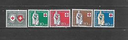 1957 - N. 590/94** (CATALOGO UNIFICATO) - Svizzera