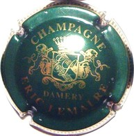 Lemaire Eric N°6, Vert Foncé & Or - Champagne