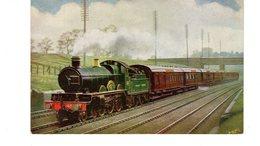 Les Locomotives (Royaume-Uni) UP CORNISH RIVIERA Ltd EXPRESS G W RY. - Trains