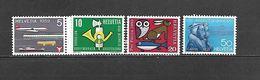 1959 - N. 621/24** (CATALOGO UNIFICATO) - Svizzera