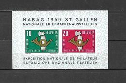 1959 - BF N. 16** (CATALOGO UNIFICATO) - Svizzera