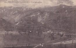 BOURG SAINT MAURICE  VUE GENERALE (dil422) - Bourg Saint Maurice
