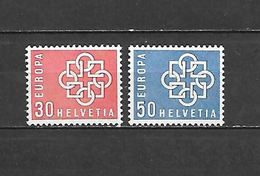 1959 - N. 630/31** (CATALOGO UNIFICATO) - Svizzera