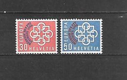 1959 - N. 632/33** (CATALOGO UNIFICATO) - Svizzera