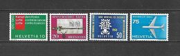 1960 - N. 639/42** (CATALOGO UNIFICATO) - Svizzera