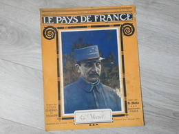 PAYS DE FRANCE N°95.  10 AOUT 1916. GENERAL MAZEL. - Magazines & Papers