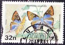 Sambia Zambia - Schmetterling (Aphnaeus Questiauxi) (Mi.Nr.:230) 1980 - Gest Used Obl - Zambia (1965-...)
