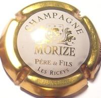 Morize N°7, Contour Or Foncé, Fond Blanc - Champagne