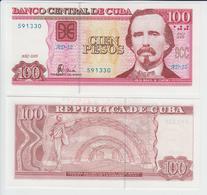 CUBA 100 Pesos P 129 B 2005 UNC - Cuba
