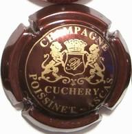 Poissinet - Ascas N°6, Marron Foncé & Or - Champagne