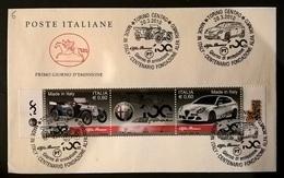 MADE IN ITALY ALFA ROMEO - F.D.C.