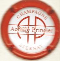 Princier Achille N°14, Blanc, Contour Rouge - Champagne