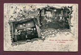 """ITZEHOE  : """" GRUSS AUS DER STUMPFEN ECKE """"  1899 - Itzehoe"""