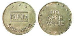 03243 GETTONE TOKEN JETON MACHINE MKM AUTOMATE NO CASH VALUE - Allemagne