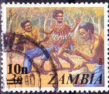 Sambia Zambia - Nationaltanzgruppe (Mi.Nr.:198) 1979 - Gest Used Obl - Zambia (1965-...)