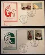 POSTE ITALIANE 1993 GATTI - F.D.C.
