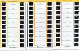 Lot De 5 Stéréocartes Lestrade  : Le Mont Saint Michel 1-2-3-4-5  N° 50371 à 50375 - Stereoscopes - Side-by-side Viewers