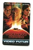 Carte VIDEO FUTUR - N°163 - Film De Cinéma - Planète Rouge - Frankrijk