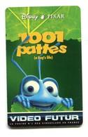 Carte VIDEO FUTUR - N°67 - Film De Cinéma - 1001 Pattes (a Bug's Live) - Disney / Pixar - Frankrijk