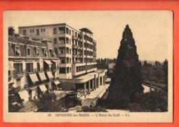 TRK-34  Divonne Hotel Du Golf. Circulé Sous Enveloppe En 1935 - Divonne Les Bains