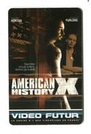 Carte VIDEO FUTUR - N°80 - Film De Cinéma - American History X - Frankrijk