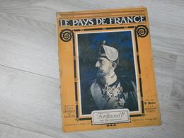 PAYS DE FRANCE N°100.  14 SEPTEMBRE 1916.  FERDINAND 1er ROI DE ROUMANIE. - Magazines & Papers