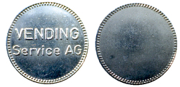 03416 GETTONE TOKEN JETON DISPENSER MACHINE VENDING SERVICE AG - Royaume-Uni