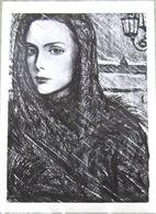 Verses Of The Block In Illustrations By I. Glazunov. Women. Art USSR Russia Postcard - Russia