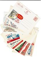 Lot 10 Cartes Publicitaires PUBLIBEL - 1204/1543/1553/1617/1703/1732/2169/2174/2432/2776 - 6 Scans - Publibels