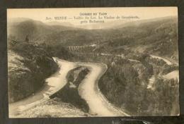 CP-MENDE- Vallée Du Lot. Le Viaduc De Graniérets Près Badaroux - Mende