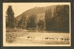 CP-MENDE- Le Barrage Du Pont Saint-Laurent - Mende