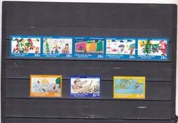 Christmas Nº 349 Al 356 - Christmas Island