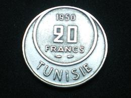 20 FRANCS TUNISIE 1950 Km # 274    Lot N°2 - Tunisie
