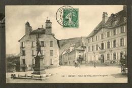 CP-MENDE- Hôtel De Ville, Place D'Angiran - Mende