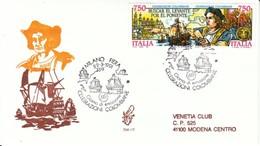1991 - CELEBRAZIONI COLOMBIANE - FDC VENETIA - F.D.C.