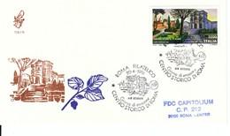 1991 - CENTRO STORICO DI ROMA SAN GREGORIO- FDC VENETIA - F.D.C.
