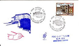 1991 - LICEO SASSARI - FDC VENETIA - F.D.C.