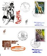 1991 - ARTE FAZZINI - FDC VENETIA - F.D.C.