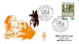 1991 - MUSEO EGIZIO - FDC VENETIA - F.D.C.