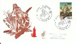 1991 - NATALE - FDC VENETIA - F.D.C.