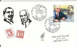 1991 - GIORNATA FILATELIA - FDC VENETIA - F.D.C.