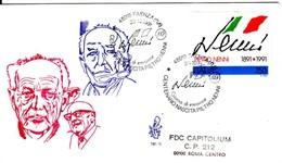 1991 - PIETRO NENNI - FDC VENETIA - F.D.C.