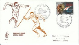 1992 - CAMPIONATI EUROPEI ATLETICA LEGGERA - FDC VENETIA - F.D.C.