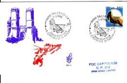 1992 - CASTELLO ARECHI DI SALERNO LIRE 850 - FDC VENETIA - F.D.C.