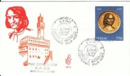 1992 - LORENZO IL MAGNIFICO - FDC VENETIA - F.D.C.