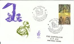 1992 - MAESTRE PIE FILIPPINI - FDC VENETIA - F.D.C.